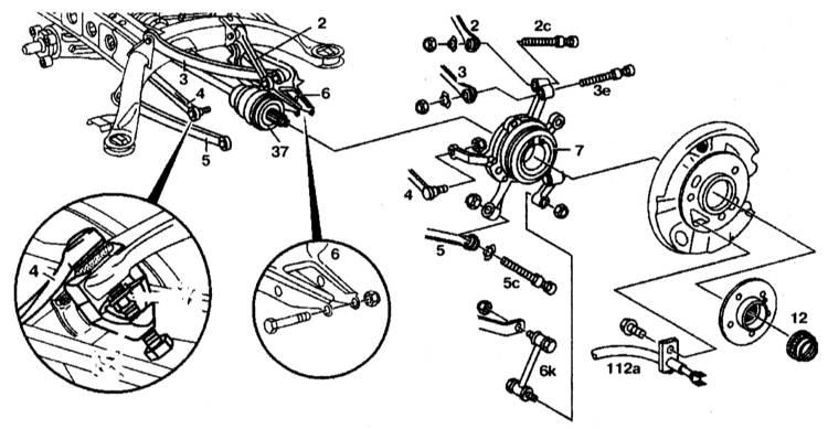 Замена подшипника ступицы заднего колеса на mercedes e220