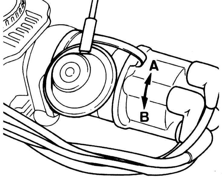7.2.8. Проверка и основная регулировка момента зажигания (двигатель C14NZ)